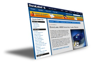 duralabel 4000 website