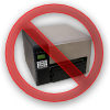 Avoid locked printers